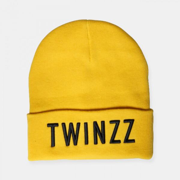 Čiapka TWINZZ 3D Beanie yellow/black