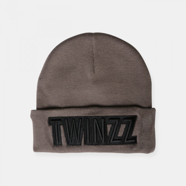 Čiapka TWINZZ Uber Embro Knitted charcoal/black