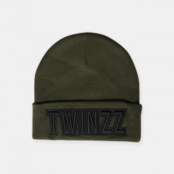 Zimná čiapka TWINZZ Uber Embro Knitted olive/black