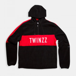 Mikina TWINZZ Warren Zip black