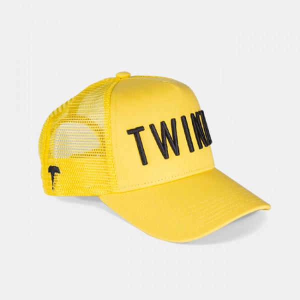 Šiltovka TWINZZ 3D Mesh Trucker žltá/čierná