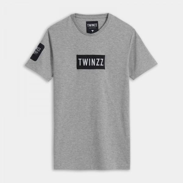 Tričko TWINZZ Gotti Azzuro tee grey
