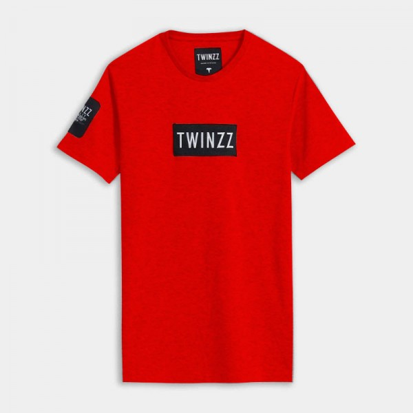 Tričko TWINZZ Gotti Azzuro tee red