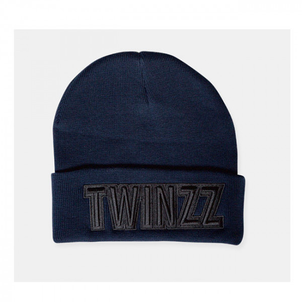 Čiapka TWINZZ Uber Embro Knitted navy/black