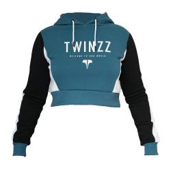 Mikina TWINZZ Lounge Active Hood Navy