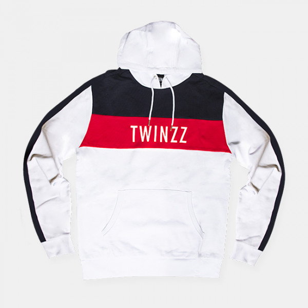 Mikina TWINZZ Nelson White