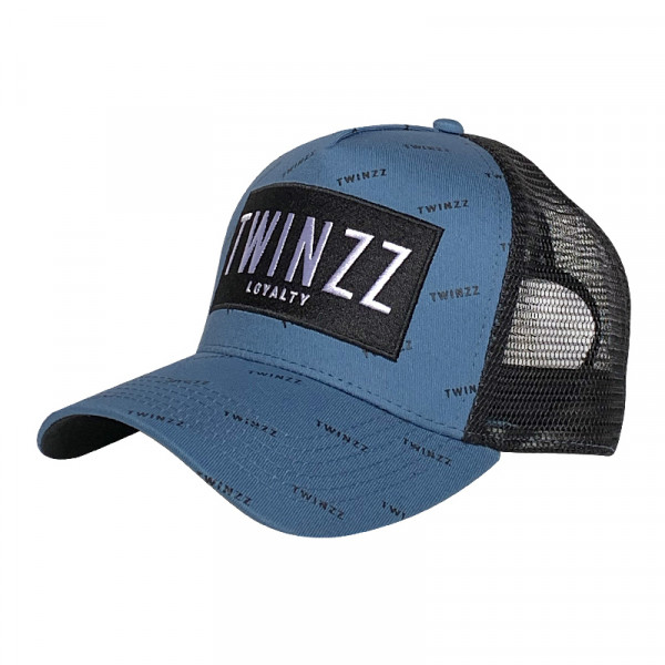 Šiltovka TWINZZ Pinelli Ss Trucker smoke blue/black