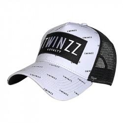 Šiltovka TWINZZ Pinelli Ss Trucker white/black