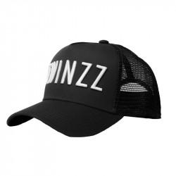 Šiltovka TWINZZ 3D Nylon Shine Trucker black/white