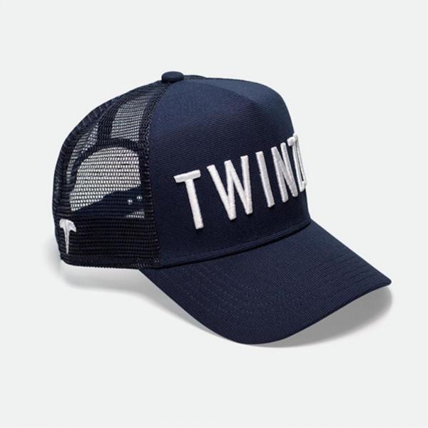 Šiltovka TWINZZ 3D Mesh Trucker navy/white