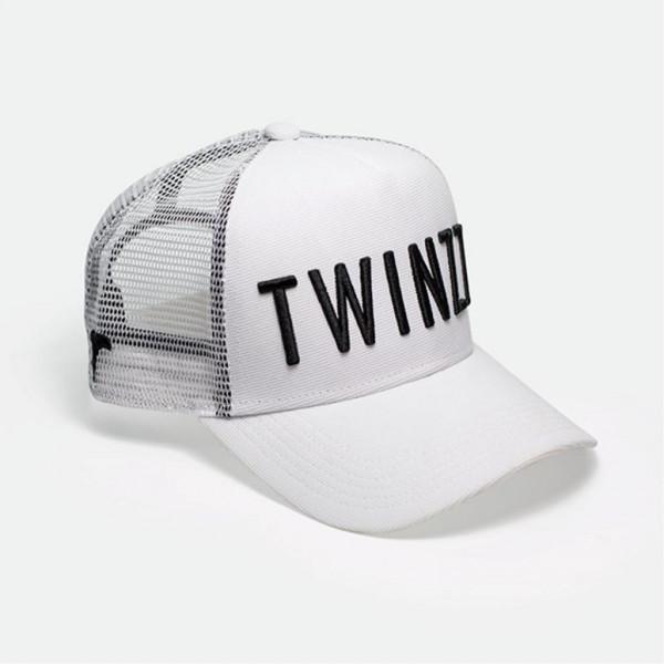 Šiltovka TWINZZ 3D Mesh Trucker white/black