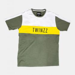 Tričko TWINZZ Nelson khaki