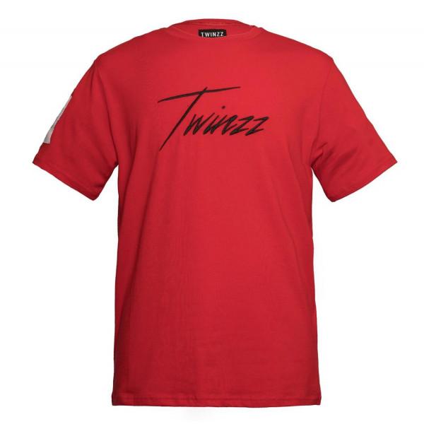 Tričko TWINZZ Stefano Tee red