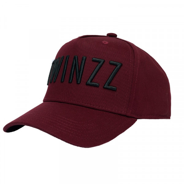 Šiltovka TWINZZ 3D Full Trucker burgundy/black