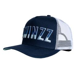 Šiltovka TWINZZ Gradient Mesh Trucker navy/white/baby blue