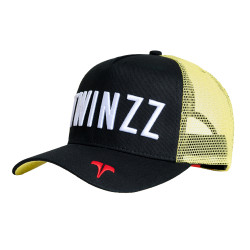 Šiltovka TWINZZ Core Tri-Color Trucker black/yellow/white
