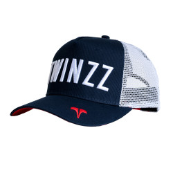 Šiltovka TWINZZ Core Tri-Color Trucker navy/white/red
