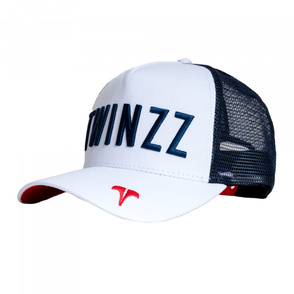 Šiltovka TWINZZ Core Tri-Color Trucker white/navy/red