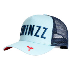 Šiltovka TWINZZ Core Tri-Color Trucker baby blue/navy/red