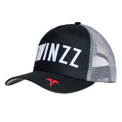 Šiltovka TWINZZ Core Tri-Color Trucker black/grey/red
