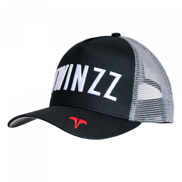 Šiltovka TWINZZ Core Tri-Color Trucker black/grey/red