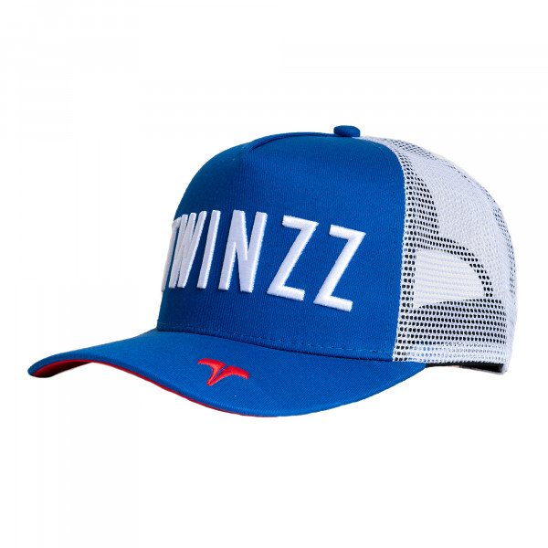 Šiltovka TWINZZ Core Tri-Color Trucker royal/white/red