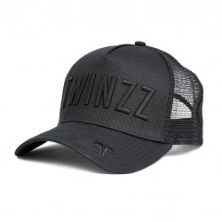 Šiltovka TWINZZ Ghost trucker black