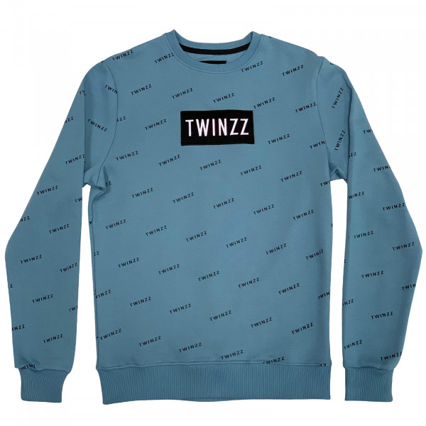 Mikina TWINZZ Pinelli Sweatshirt smoke blue/black