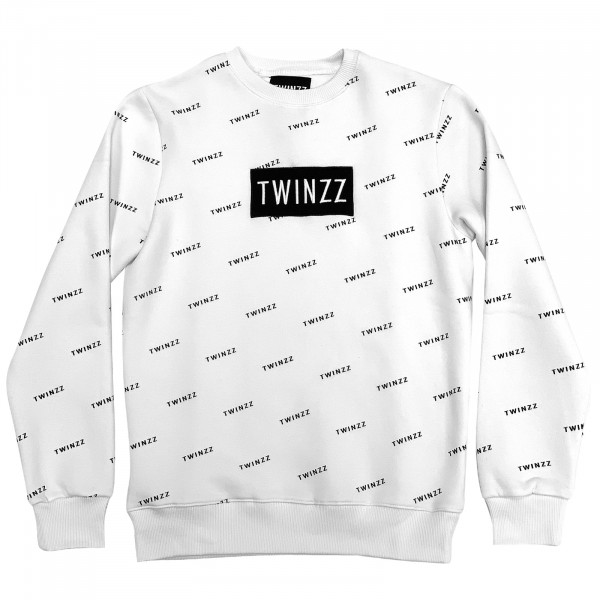 Mikina TWINZZ Pinelli Sweatshirt white/black