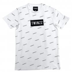 Tričko TWINZZ Pinelli Tee white/black