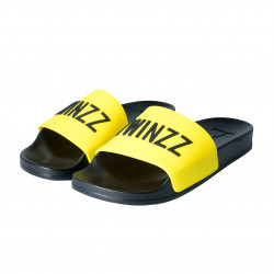 Šľapky TWINZZ Positano yellow/black