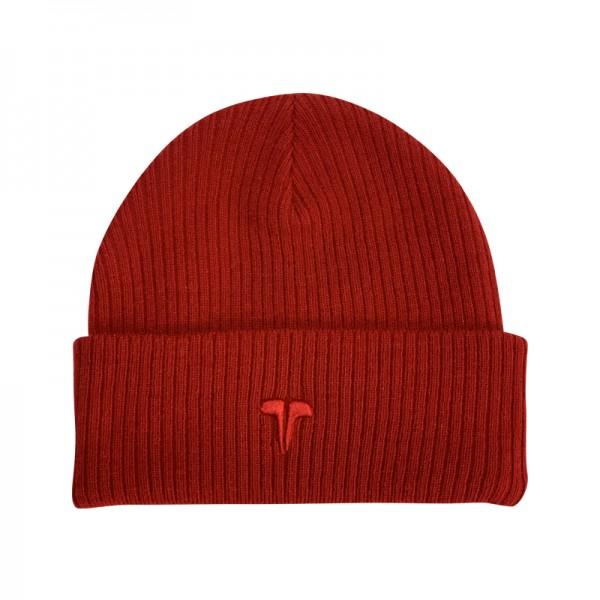 Zimná čiapka TWINZZ Premium Ribbed Beanie red