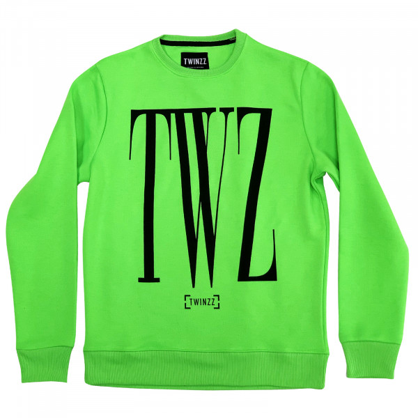 Mikina TWINZZ Rossi Sweatshirt lime/black