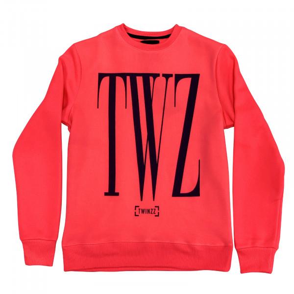Mikina TWINZZ Rossi Sweatshirt pink/navy