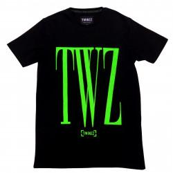 Tričko TWINZZ Rossi Tee black/lime