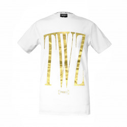 Tričko TWINZZ Rossi Tee white/gold