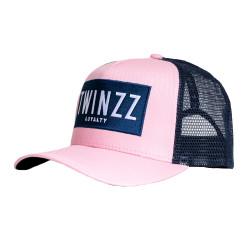 Šiltovka TWINZZ Sencillo Ss Trucker pink/navy/white