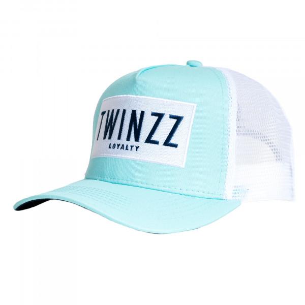 Šiltovka TWINZZ Sencillo Ss Trucker mint/white/navy