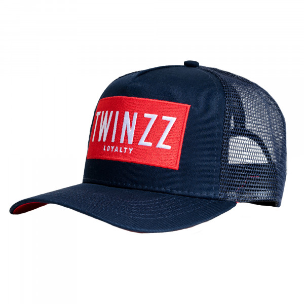 Šiltovka TWINZZ Sencillo Ss Trucker navy/red