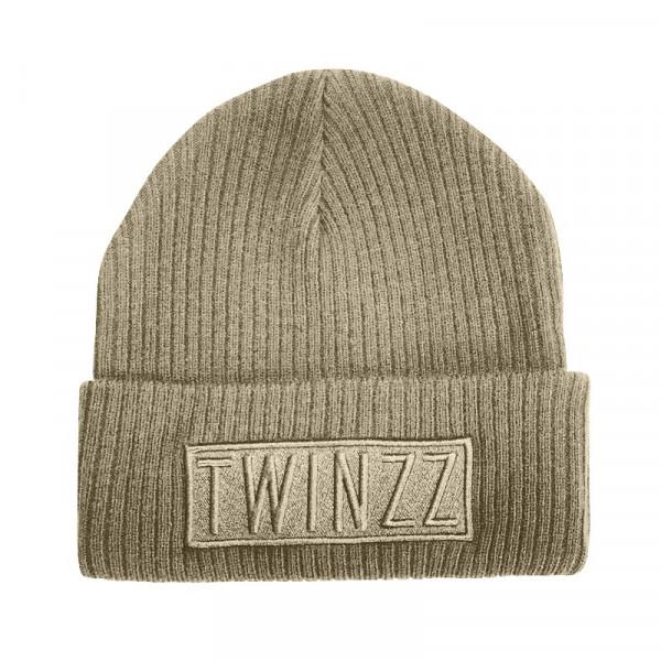 Zimná čiapka TWINZZ Toronto Box Beanie charcoal