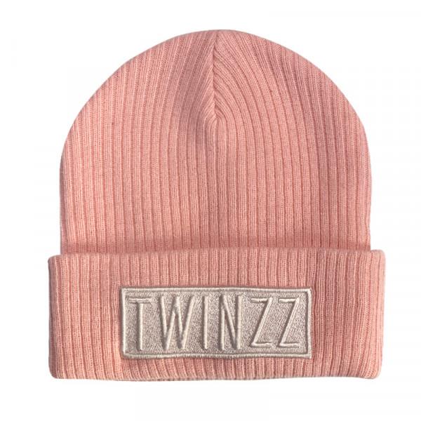 Zimná čiapka TWINZZ Toronto Box Beanie pink