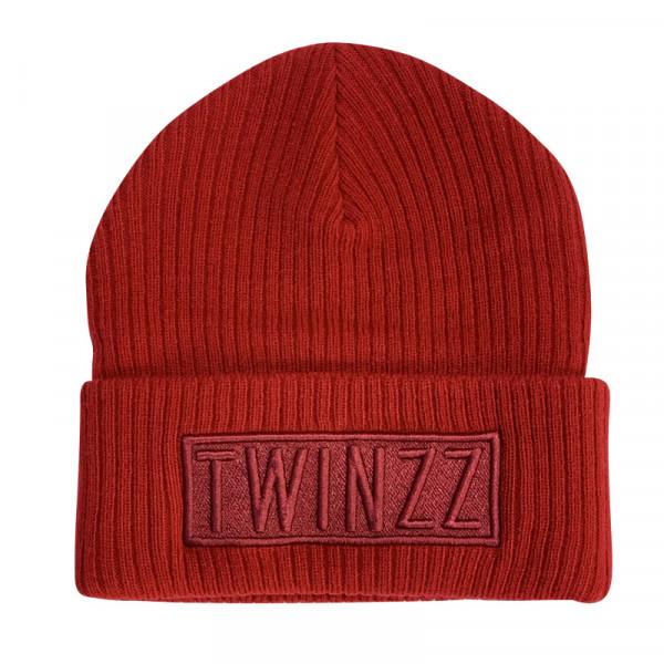 Zimná čiapka TWINZZ Toronto Box Beanie red