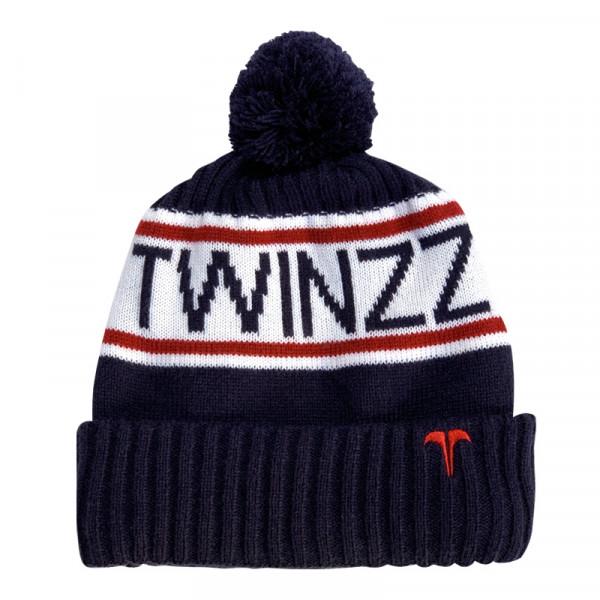 Zimná čiapka TWINZZ Vancouver Jacquard navy/white/red