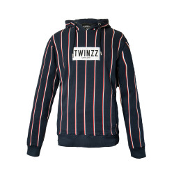 Mikina TWINZZ Virgilli Stripe navy/white/red