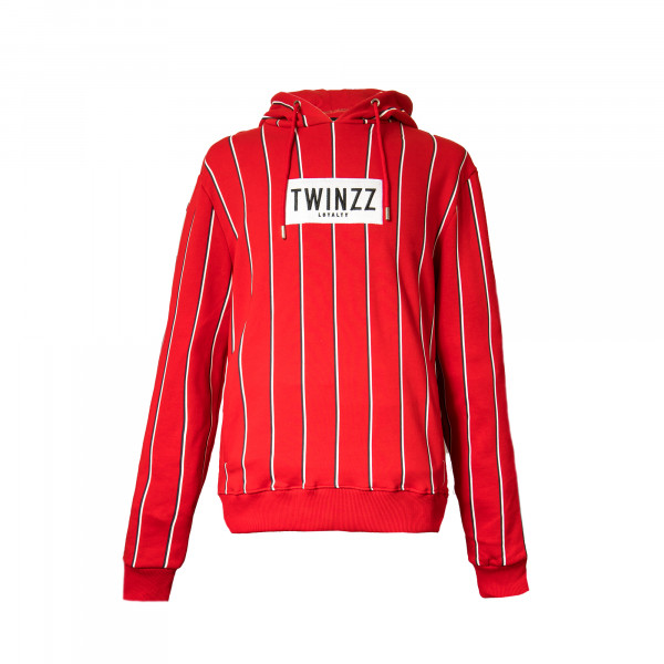 Mikina TWINZZ Virgilli Stripe red/navy/white