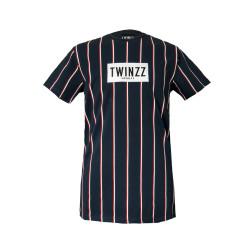 Tričko TWINZZ Virgili Tee navy/white/red