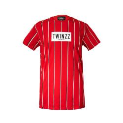 Tričko TWINZZ Virgili Tee red/black/white