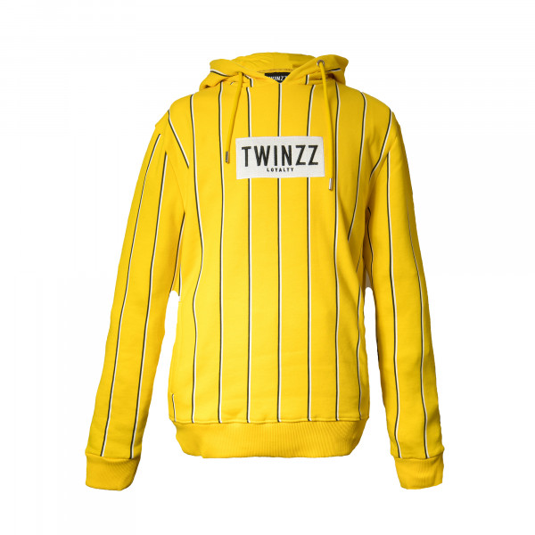 Mikina TWINZZ Virgilli Stripe yellow/white/khaki