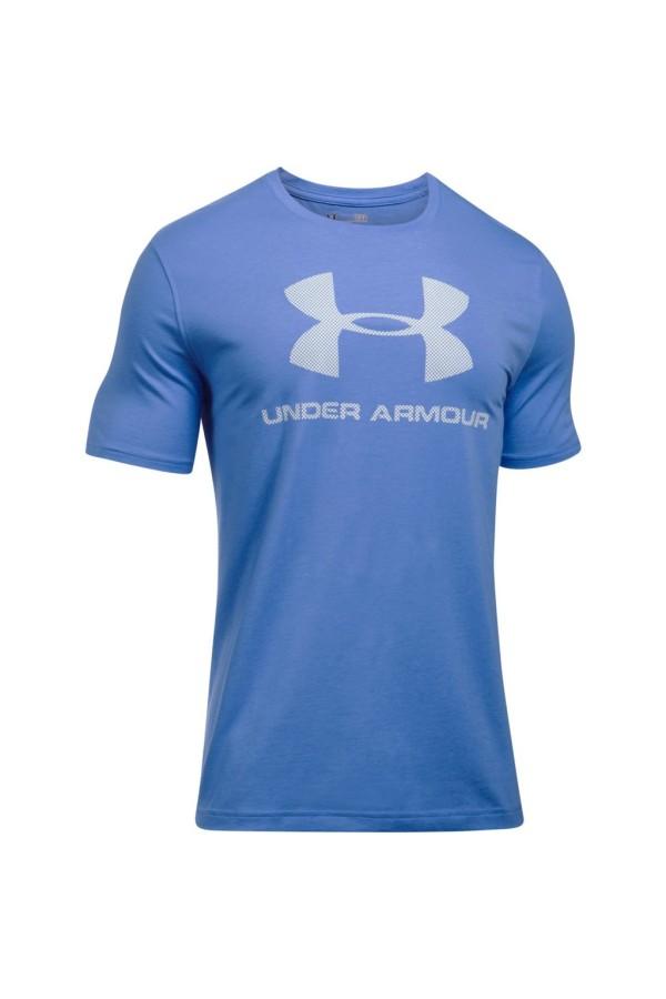 Tričko UNDER ARMOUR Sportstyle Logo blue