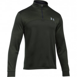 Mikina UNDER ARMOUR Storm AF Icon 1/4 Zip Dark Green